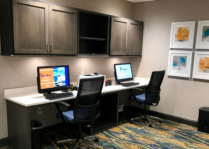 Hampton Inn Business Center