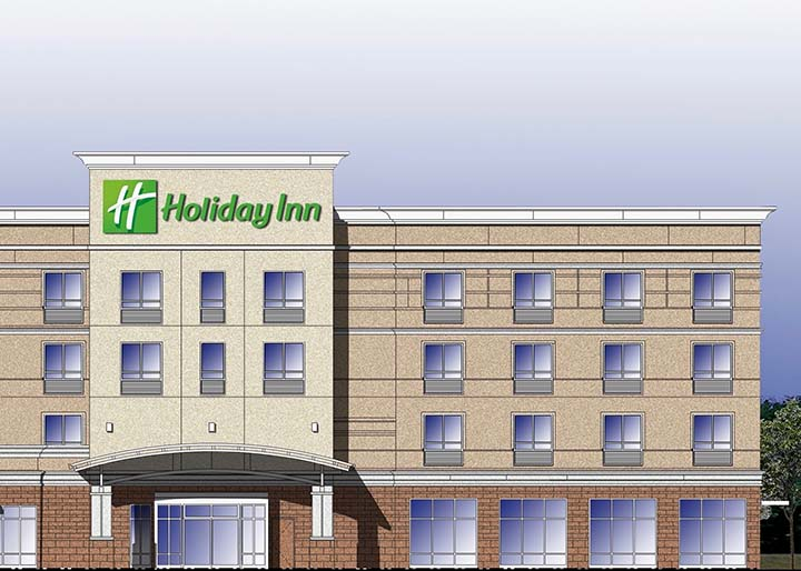 Artists Rendering of KY Holiday Inn